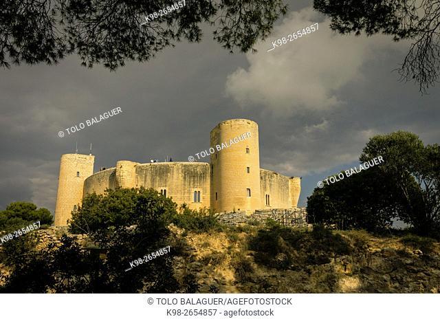 Bellver Castle (XIV century), Palma, Mallorca, Balearic Islands, Spain