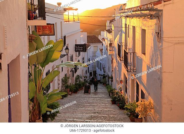 Frigiliana Costa del Sol  Malaga province, Andalusia, Spain