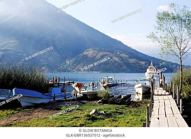 Boats at a riverside