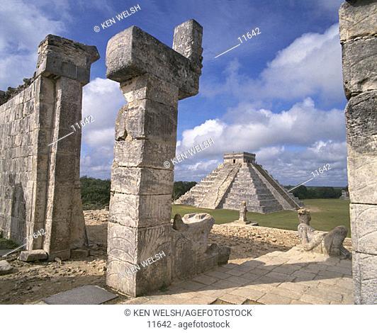 Mayan ruins. Chichén Itzá. Mexico