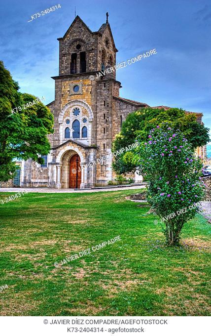 San Vicente Church. Frías. Burgos province. Castilla y Leon. Spain