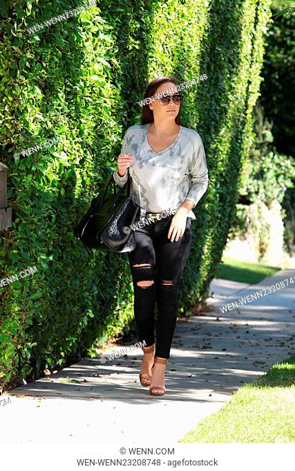 Shahs of Sunset Jessica Parido seen out in Beverly Hills the day after her divorce is announced from husband of 6 months, wearing no wedding ring