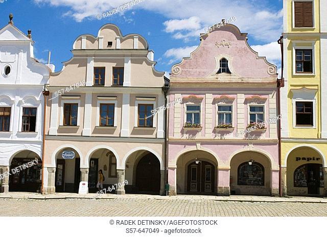 Telc, South Moravia, Czech Republic