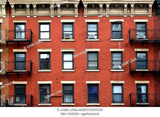 Tenth Avenue Chelsea Tenements, New York, NY, USA