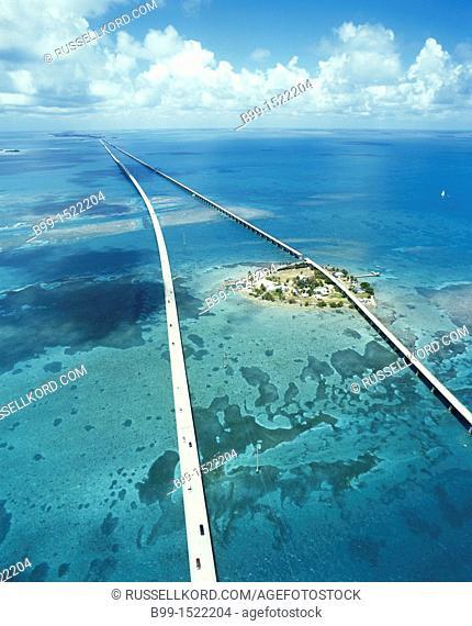 Pigeon Key Seven Mile Bridge Monroe County Florida USA