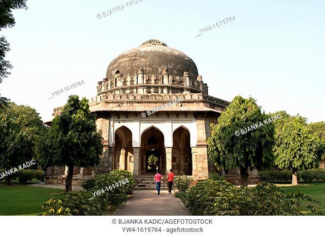 Tomb of Sikandar Lodi, Lodi Gardens, New Delhi, India