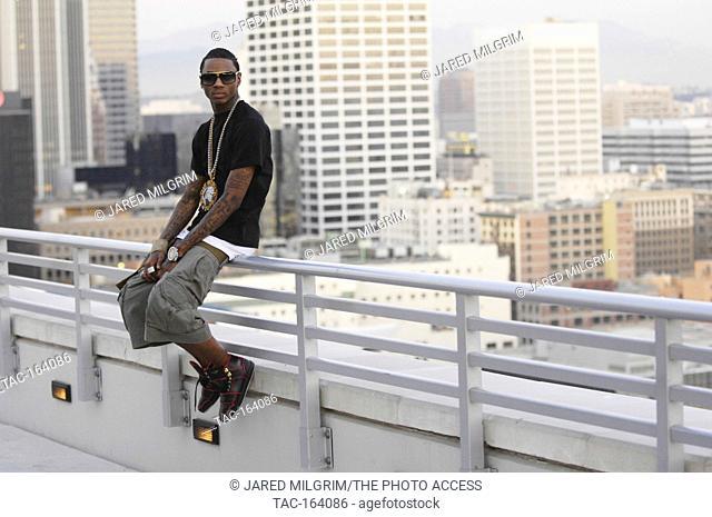 Deandre Way aka Soulja Boy Tell 'Em portrait on September 25, 2009 in Los Angeles, California