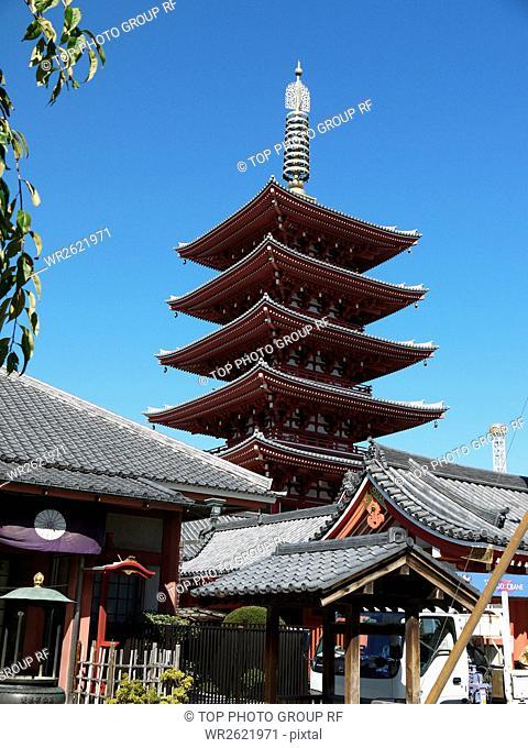 Asakusa;Senso-ji Temple;Taito-ku;Tokyo;Japan