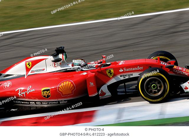 02.09.2016 - Free Practice 1, Sebastian Vettel (GER) Scuderia Ferrari SF16-H