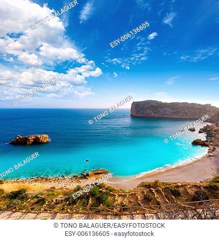 Javea Playa Ambolo beach Xabia in Mediterranean Alicante Spain