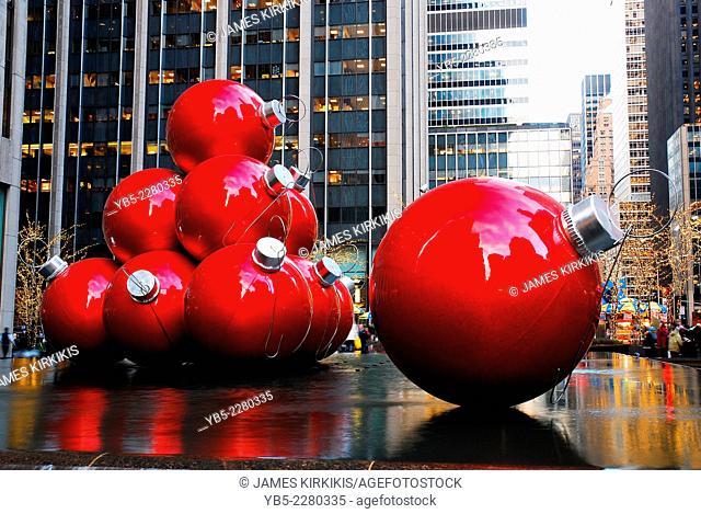 New York at Christmas