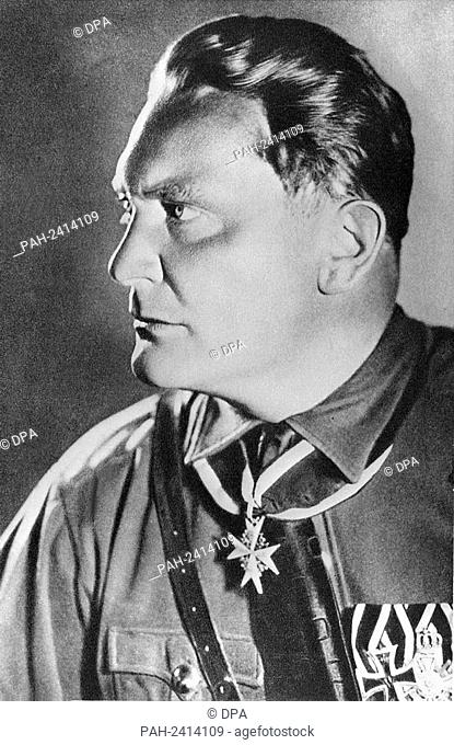 German politician (NSDAP) and Reich Marshall Hermann Göring. Undated picture. - /Germany