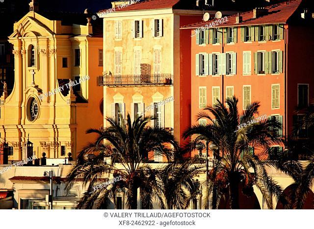 Nice city, Alpes-Maritimes, Côte d'Azur, French Riviera, France