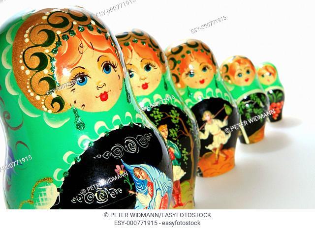 Matryoschkas, Russian dolls