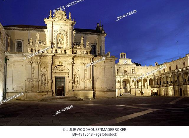 Piazza del Duomo, Lecce, Puglia, Italy