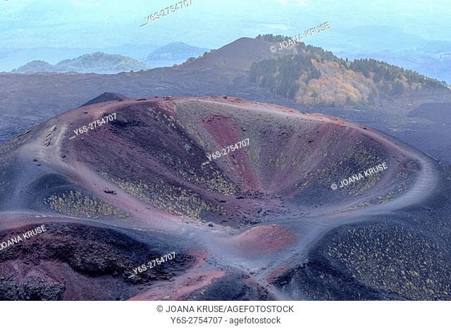 Mount Etna; Catania; Sicily; Italy