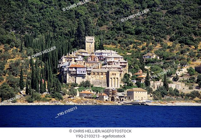 Dochiariou Monastery (c11th) Mount Athos Greece