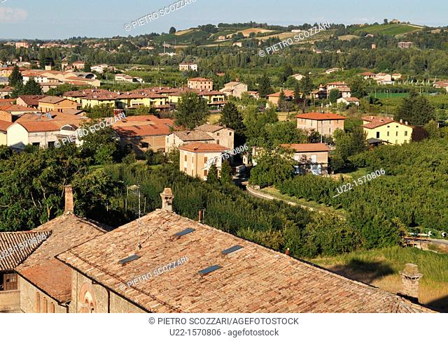Vignola (Modena, Italy): view of the town the Castle