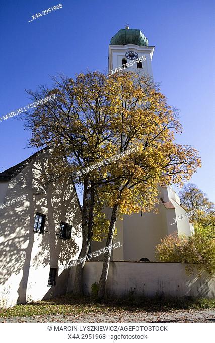 St. Mary's Church, Ramersdorf, Munich, Germany