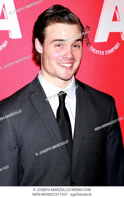 Opening night party for the Atlantic Theater Company production Posterity, held at Moran's restaurant - Arrivals. Featuring: Mickey Theis Where: New York City