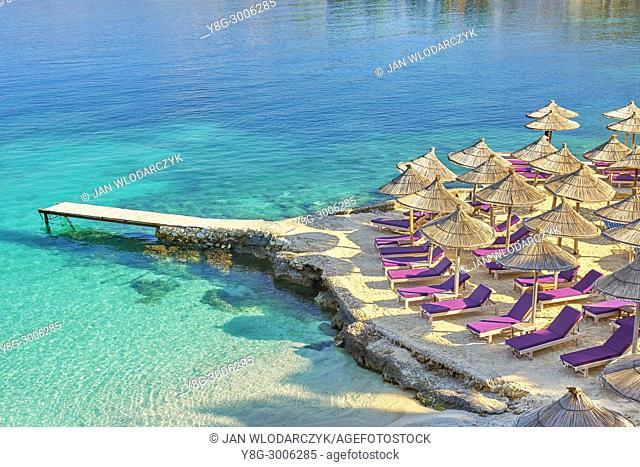 Albania, Ksamil Beach, Albanian Riviera