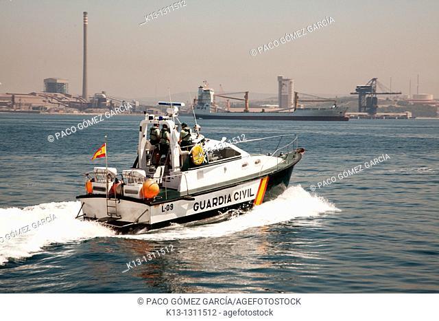 Border Surveillance Service of the Guardia Civil  Algeciras  Spain  Europe