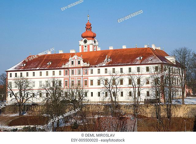 Czech republic, Mnichovo Hradiste,castle