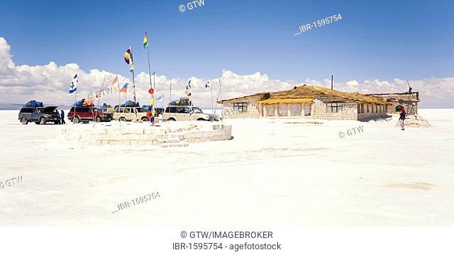 Hotel de Sal Playa Blanca, Salar de Uyuni, Potosi, Bolivia, South America