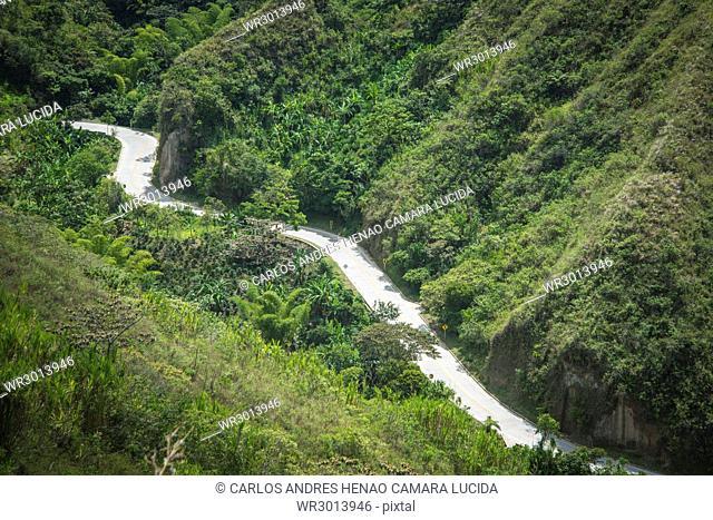 Via La Sierra - Las Rosas, Cauca, Colombia