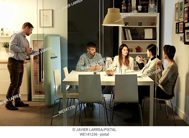 Executive lounge. Advertising agency