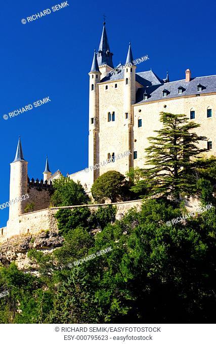 Alcazar fortress, Segovia, Castile and Leon, Spain