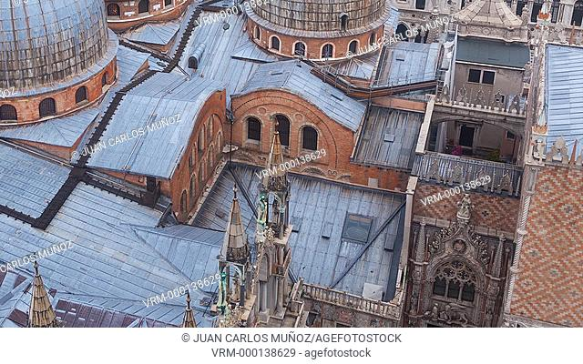 View of Saint Mark's Basilica