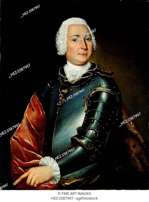 'Portrait of Count Ernst Christoph von Manteuffel', 18th century. Ernst Christoph von Manteuffel (1676-1749) was a Saxon diplomat and statesman