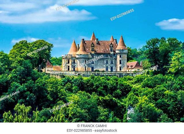 Chateau de Marzac Perigord tursac france