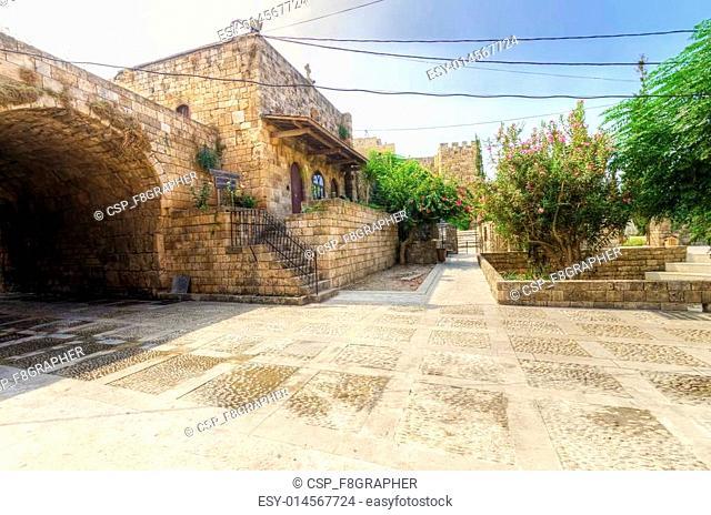 Old souk square, Byblos, Lebanon