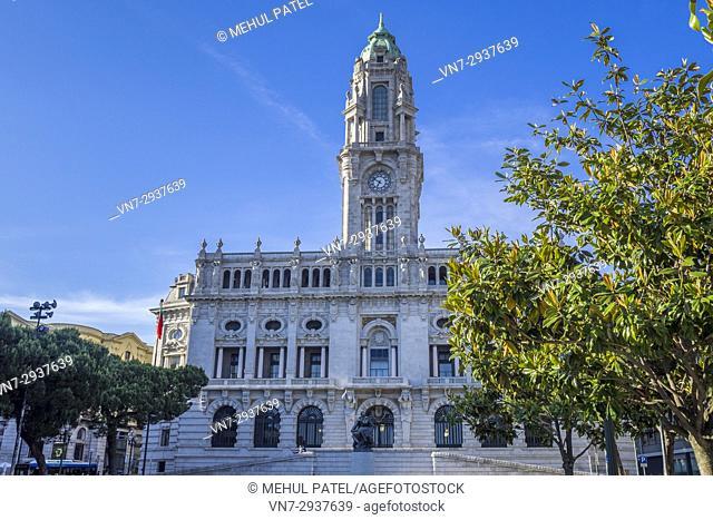 Porto City Hall (Camara Municipal do Porto) - Porto, Portugal