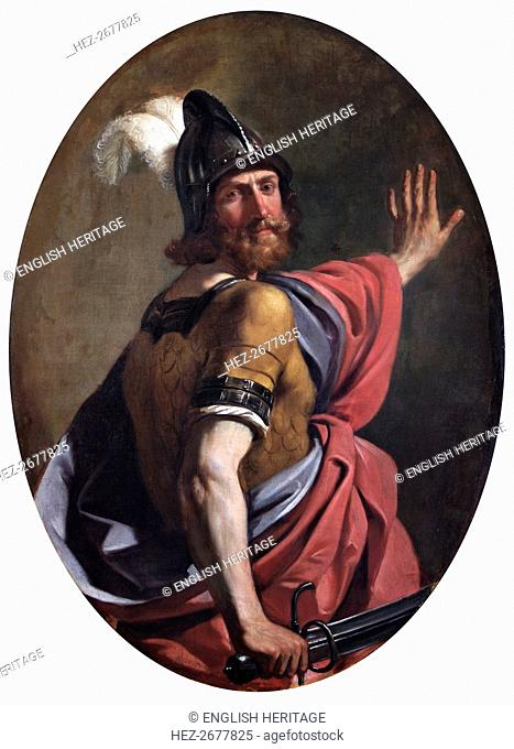 'Mars as a Warrior', 1630. Artist: Guercino