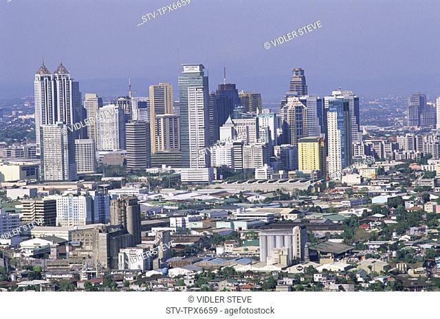 Asia, Buildings, Business, City, District, Holiday, Landmark, Manila, Modern, Pasig, Philippines, Skyline, Skyscrapers, Tourism