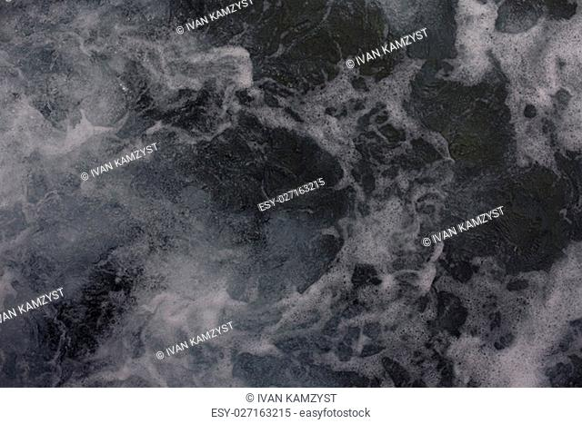 Splashing Waves,View Of Rippled transparent Water. Red sea sharm el sheikh Egypt