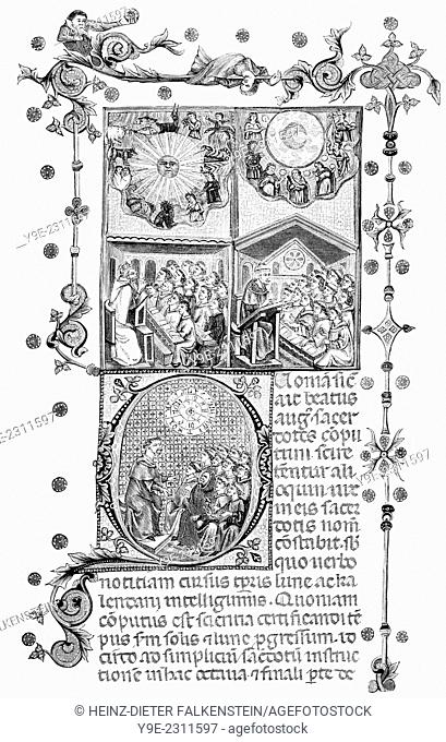 Rationale divinorum officiorum, a liturgical treatise written by Guillaume Durand, or William Durand, c. 1230 - 1296, a French canonist and liturgical writer