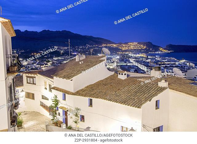 Altea village Alicante province on May 26, 2017 Spain
