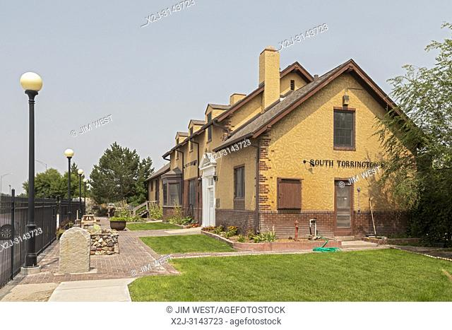 Torrington, Wyoming - The Homesteaders Museum, in a 1926 Union Pacific railroad depot, contains artifacts and information about the homesteaders who settled in...