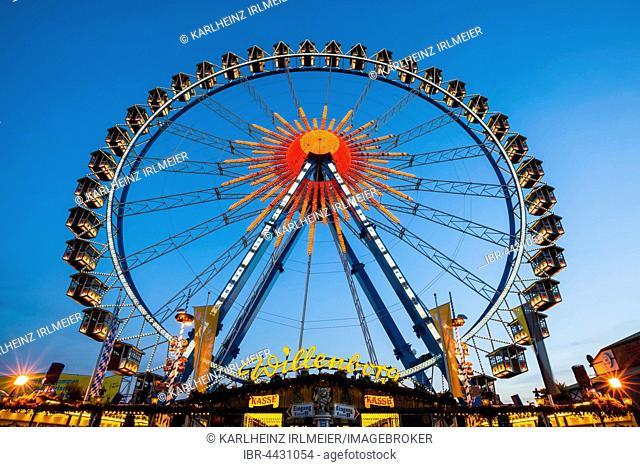 Ferris wheel, Oktoberfest, Munich, Bavaria, Germany