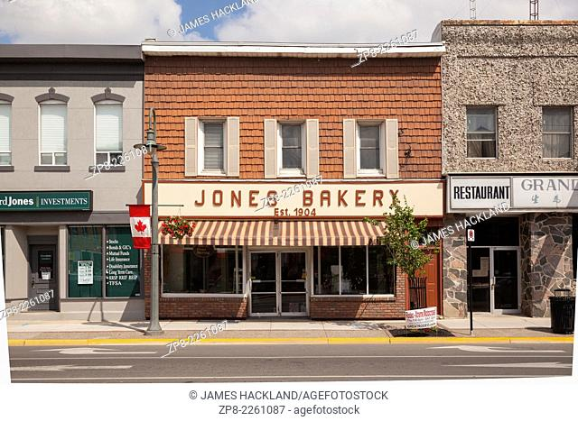 Jones Bakery in downtown Caledonia, Ontario, Canada