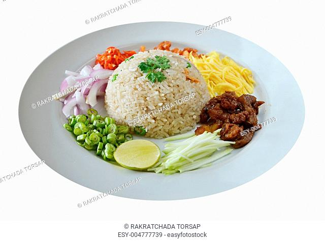 Mixed cooked rice