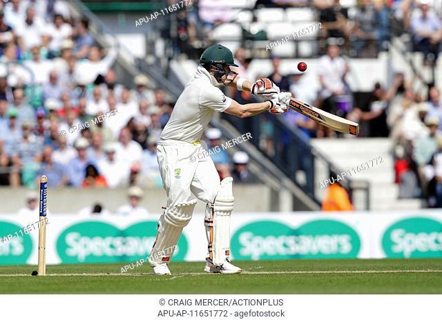 2015 Investec Ashes 5th Test England v Australia Day 2 Aug 21st. 21.08.2015. London, England. Investec Ashes 5th Test, day 2. England versus Australia