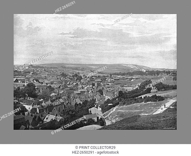 Lewes, Sussex, c1900. Artist: Frith & Co