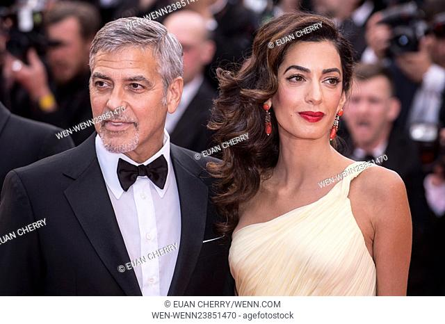 """Actors and celebrities attends the premiere for """"""""Money Monster"""""""" at the Palais de Festival for the 69th Cannes Film Festival"""