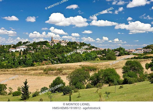 France, Aude, medieval village of Fanjeaux