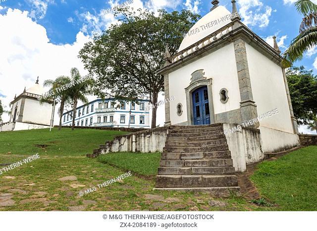 Santuario de Bom Jesus de Matosinhos, Aleijandinho masterpiece, Chapels, Congonhas do Campo, Minas Gerais, Brazil
